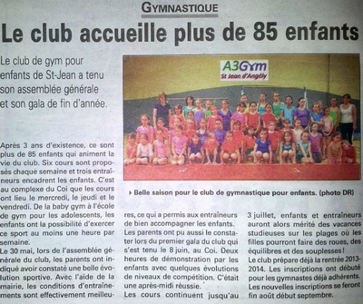 Article - lhebdo - 20 juin 2013