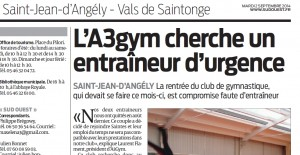 Article - sud-ouest - 02 septembre 2014