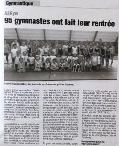 Article - Angérien libre - 09 octobre 2015